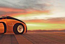 FSAE Car Renders / Renders of the FSAE Cars of ART Electric