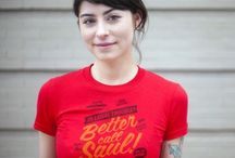 Witty T-Shirts / Variety of various witty T-Shirts about topical shows and humor