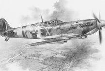 Airplane drawings
