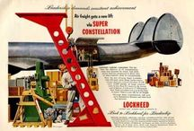 Lockheed Constellation / The Lochheed Constellation - the plane that started the long distance airline industry. The first commercial plane that was pressurised, able to fly higher and further and with more passengers than any other plane at the time.