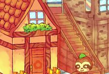 Video Games Fan Art: Animal Crossing New Leaf / Fanart of the popular RPG style video game Animal Crossing New Leaf.