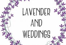 Lavender Loveliness for a Wedding! / Lavender is fantastic for weddings - pretty, smells lovely and is purple!
