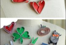 Zipper Crafts - Sewing Patterns / Sewing patterns and DIY craft projects for sewing, designing and creating handmade projects and accessories out of zippers.