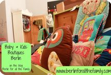 Berlin Boutiques for Baby / Details of the best boutiques in Berlin for baby clothes, nursery items and more.