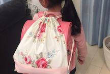 学校袋たち