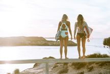 Rottnest Island X Billabong // Islands of OZ / We invited Billabong surfers Flick Palmateer and Ellie Jean Coffey along with photographer Cait Miers and the guys from Apertunity to Rottnest Island off Perth in Western Australia during April for our initial Islands of OZ feature.