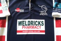 Classic Doncaster Knights Rugby Shirts / Official vintage Doncaster Knights rugby shirts from the past 30 years. Memorable jerseys from tournaments and seasons of yesteryear. Hundreds of shirts in store - Worldwide shipping   Free UK delivery