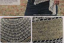 Horgolt kendők, sálak / Crochet scarfs