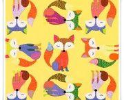 Telas de animales / telas de algodón con estampados de animales