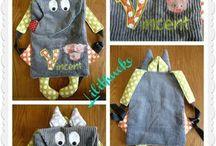 Детские рюкзаки животные