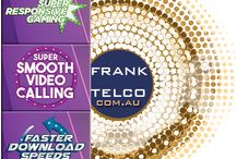 Frank Telco is your provider of high speed fibre optic or ADSL internet services,