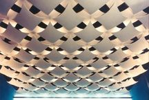 Inspired Ceilings (Inspirational Interiors) / This is our primary Pinterest board discussing and showing off a range of interior design solutions for ceilings & the variety of finishes a suspended ceiling can offer. Looking for a New Suspended Ceiling? Contact us at https://www.ceilingtilesuk.co.uk or call 08448005921 and our dedicated design staff will be happy to help!