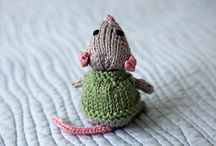 """Maybe a board """"Too Cute for Words?!"""" / What makes tiny (and large) animals so adorable?  My sister keeps sending me links to little felted mice.  She can't resist something so cute.  Neither can I."""