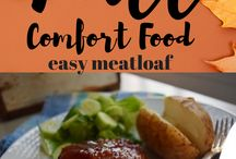 Comfort Food / The colder weather coming calls for some comfort food.  Easy recipes that bring family and friends around the table! No counting calories here ;)