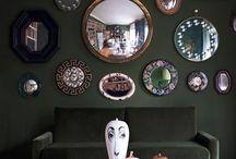 Чем украсить стены? / Всем известны такие способы декорирования стен как фото или картины, но сегодня мы рассмотрим такой неоднозначный вид декора как зеркала.