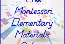 Montessori homeschool resources