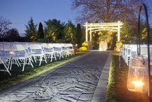 Outdoor Ceremony at Dusk!
