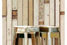 Scrapwood Wallpaper / Scrapwood Wallpaper by Peit Hein Ekk Holland