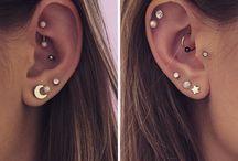 Piercings; Earrings