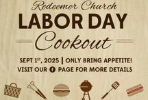 Party Planning: Labor Day Cookout