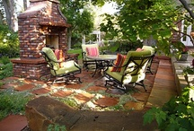 ideas for my outside haven / by heidi Hyatte