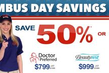 Columbus Day Savings Event - Save 50% / Save 50% on Doctor Preferred and Beautyrest or Pay No Sales Tax.