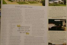 Stapleford in the Press / Find out what the Press have to say about Stapleford Park