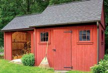 Outdoor Sheds / A collection of outdoor sheds that can help you organize your backyard! / by Dreamscape: Yard Product