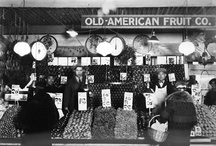 Pike Place Market / See our online exhibit for a history of the market: http://www.cityofseattle.net/CityArchives/Exhibits/PPM/default.htm / by Seattle Municipal Archives