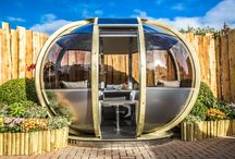 Garden Design / The 'Oval House' offers the unique qualities of being a dinning, lounging, study and entertaining environment for eight guests. Ornate Garden's latest garden pod for outside living