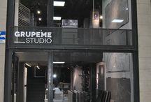 Inauguración de Grupeme Studio / Gracias a quienes nos acompañaron en la inauguración de Grupeme Studio, el pasado 22 de junio. ¡Esperamos veros pronto en el Passeig de Sant Joan, número 170, de Barcelona!