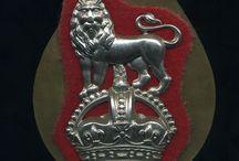 British insignes en medailles