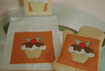 patchwork cupcakes