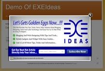 Website/Blogs POP-UPs / by EXEIdeas