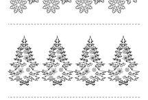 FREE Printables for Christmas / http://123kidsfun.com/christmas/