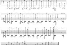 Guitar tabs / Music