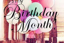Birthday printables / Birthday pics and printables