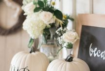 Autumn/Fall Wedding Ideas