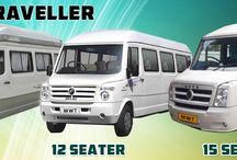 9, 12, 15 Seater Tempo Traveller Hire Delhi to outstation