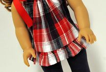 American girl dolls / by Christine Mattina-clark