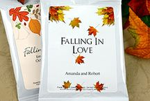 """""""Fall In Love"""" Bridal Shower / Get inspired with our Fall Themed Bridal Shower Board!"""