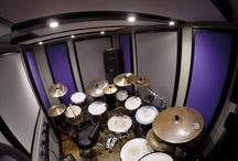 MidTown Music Productions / Built in under 3 days for Midtown Music productions in London, this B-Level BOXY modular studio is the main drum/ live room for practice and recording.