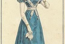 Suknie 1820-1829