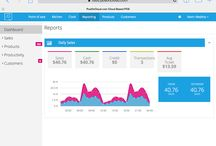 Analytics / Screenshots from our 40+ analytic reports for businesses at POS on Cloud