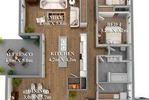 5 Plany domu