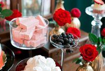 Сладкий стол на свадьбе / Свадебные торты и сладости на свадьбу