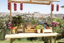 Puestos de comida / Puestos de comida en fiestas, bodas y eventos
