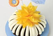 Nothing Bundt Cakes / Our luscious cakes are made with the finest, premium ingredients, including fresh eggs, real butter and cream cheese. Our cakes are available in 8 and 10-inch bundt cakes, single-serving bundtlets and bite size bundtinis. / by Nothing Bundt Cakes