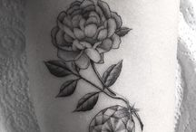 Thigh tattoo reference photos