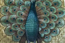 Peacocks....pretty & proud / Whay amazing colors on this beautiful  bird. PLEASE FOLLOW IF YOU PIN MORE THAN 10 ☺.  / by Teresa Primm